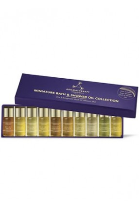 Miniature Bath And Shower Oil Collection, 9 x 3ml